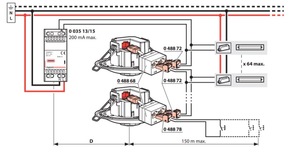 DALI Hareket Sensörü